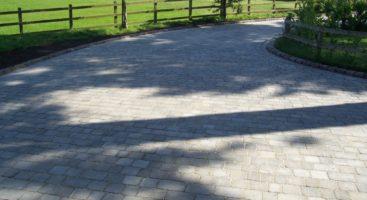 tumbled block paving driveways